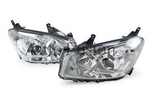 Headlights Pair For Toyota Rav4 Aca30 2008-2012