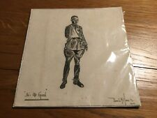 Antique  Pen and Ink Drawing First World War He's Our Friend Signed Unframed
