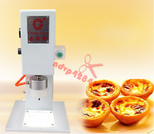 220V Pneumatic Egg Tarts Moulding Machine Egg Tart Forming Processing Machine