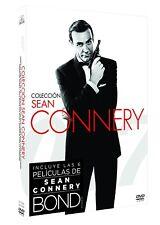 SEAN CONNERY PACK BOND DVD COLECCION 6 PELICULAS COLLECTION NUEVO ( SIN ABRIR )