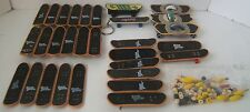 Finger Board Skateboard Tech Deck +Other 30PC Mixed Lot Some Broken Many Pieces