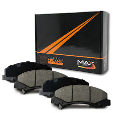 2007 Pontiac G5 (See Desc.) Max Performance Ceramic Brake Pads F