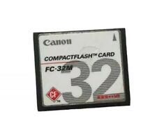 Vintage Canon Camera Compact Flash Memory Card C.F 32mb  Tested/formatted