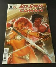 RED SONJA CONAN 1 ALEX ROSS COVER DYNAMITE 2 0 1 5 NM