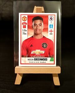 2019/2020 Panini Premier League - Mason Greenwood ROOKIE Sticker - #397