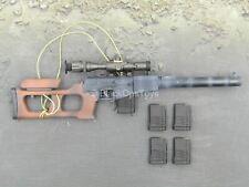 1/6 scale toy GI JOE - Zartan - VSS Vintorez Suppressed Sniper Rifle