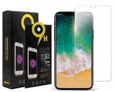 2 New Apple iPhone X Full Screen Protectors Tempered Glass Ultra HD Film