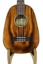 Alulu Solid Acacia Koa Grain Pineapple Shape Concert Ukulele one Hard Case BU736