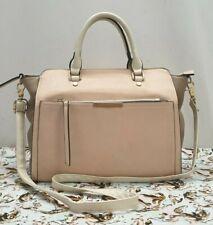 OASIS ladies womens large light pink beige trapeze shoulder Handbag bag