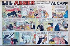 Li'l Abner by Frank Frazetta - large half-page Sunday color comic Sept. 6, 1959
