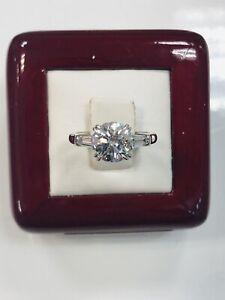 Harry Winston 2.00ct GIA D VVS2 Classic Diamond Platinum 3Ex Engagement Ring