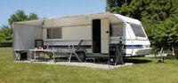 Eurotrail Adjustable Sun Canopy Awning 540x200cm for Caravan Size 700-740cm
