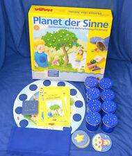 HABA Spiel Planet der Sinne Mit Karton und Anleitung 4588 1 x große Murmel fehlt