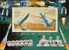 Yemen 1961 Man in Space/Gagarin/Vostok 1/Shepard/Mercury/Capsule m/s (s4003e)