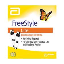 Abbott FreeStyle Lite Blood Glucose Test Strips 100