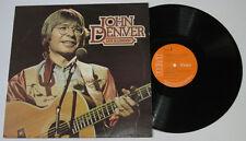 UK Pressing JOHN DENVER Live In London LP Record