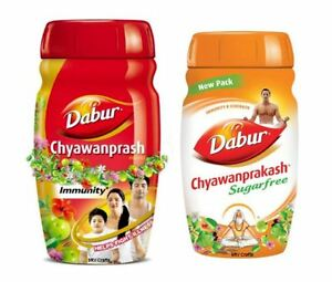 NEW Dabur Chyawanprash Awaleha Sugar Free Ayurvedic Herbal Vegetarian All Ages
