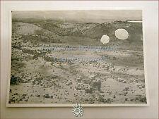 FOTO DI GUERRA Anni '30/'40: 2 soldati si lanciano con Paracadute Area Desertica