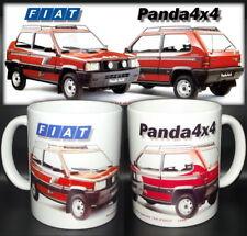 tazza mug FIAT PANDA 4x4 1990 classic car scodella ceramica