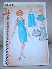 Simplicity Vintage Sewing Pattern Slip Full Half Panties factory folded not
