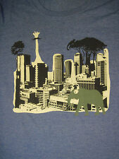 M blue ZOO IN THE CITY t-shirt by GILDAN