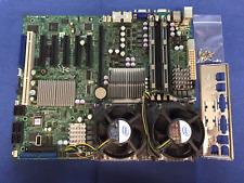 Supermicro X7DWE Server Board with DuaI Intel Xeon E5410 2.66GHz CPUs & 4GB DDR2