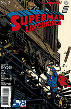 SUPERMAN UNCHAINED #2 RARE 1930's VARIANT 1:100 NM JIM LEE SNYDER DC NEW 52