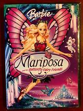 Barbie Mariposa and Her Butterfly Friends (DVD, 2008) - E0121