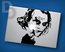 Batman Joker Macbook decal Apple Laptop sticker / tattoo stencil decal