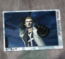57 Final Fantasy VIII FF8 Triple Triad Trading Card Japan Bandai 1999 Seifer