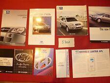 N°5407  /  HYUNDAI lot de 8 catalogues 1994-2005