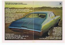 1968 BUICK GS 400  ~  ORIGINAL 2-PAGE MUSCLE CAR AD
