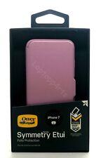 100% Original OtterBox simetría Estuche De pie Folio Estuche Cubierta para iPhone 7 Rosa