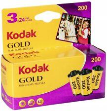 Kodak GOLD 200 Color Negative Film (35Mm Roll Film 24 Exposures 3-Pack) AU