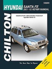 Hyundai Santa Fe Chilton Repair Manual (2001-2012)