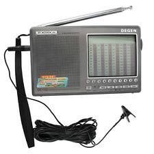 DEGEN DE1103 DSP FM stereo Radio FM SW MW LW SSB World Receiver w/ Antenna New