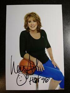 NANCY LIEBERMAN Hand Signed Autograph 4X6 Photo. - HOF FEMALE BASKETBALL