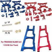 Aluminum Alloy Metal Upgrade Parts Kit For TRAXXAS SLASH 4x4 1/10 RC Car Truck