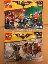 Lego Batman Movie Disco Batman Tears Of Batman 30607 & In The Phantom Zone 30522