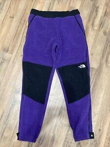 Nwot Retro '95 The North Face Denali Pants Men Sz M Nylon Fleece Purple