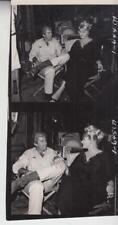 Anita Ekberg- On Set- Date/Movie Unknown- 3 1/2 x 7 1/2 Photo