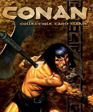 CONAN CORE CCG TCG Blood-Mad Panther #159 Ravenous Wolf #163 (MINOR FOE) LOT X 2