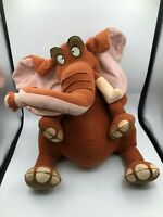 Large Disney Store Tarzan Tantor Elephant Plush Kids Soft Stuffed Toy Animal