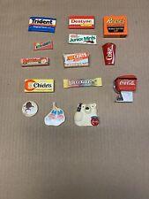 Assorted Magnets Coke Candy Gum Cola Junior Mints Chiclets Laffy Taffy Food