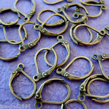 24pcs Antique Bronze Lever Ear Wires-Nickel Free