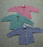 3 tlg. Jungen Kinder Trachten Konvolut in Größe 98 Hemden L185