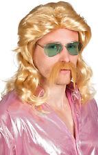 Uwe Vokuhila Proll Perücke mit Bart NEU - Karneval Fasching Perücke Haare