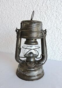 alt Petroleumlampe Feuerhand 176 Spec. Super Baby Sturmkappe W. Germany Laterne