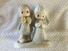 Jonathan & David Enesco Precious Moments The Lord Bless You & Keep You Figurine