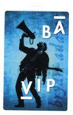 Bryan Adams 1991 Waking Up The World Tour Laminate Backstage Pass Unused Blue
